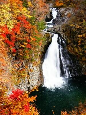 秋田県 旅行記「法体の滝(ほったいのたき)」